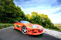 Fast and Furious - Orange Supra